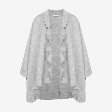 poncho med volang