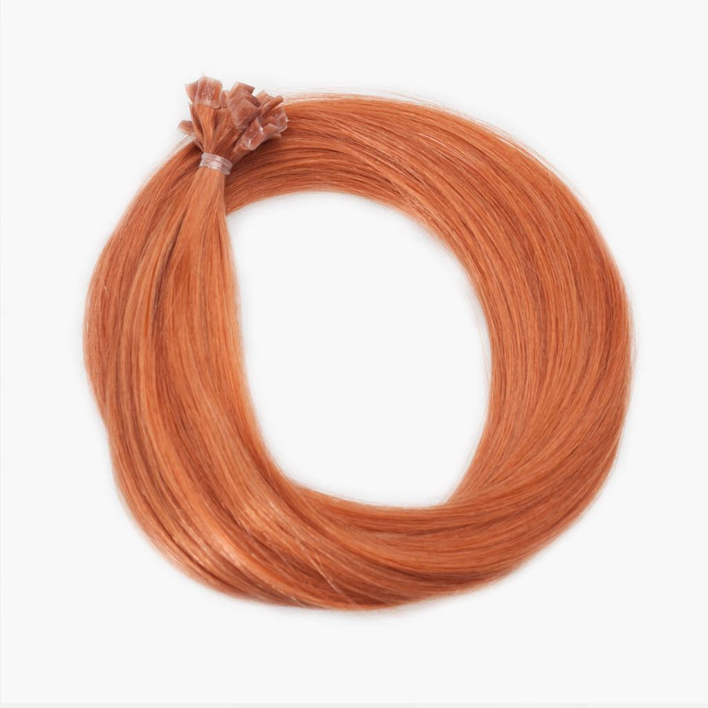 Nail Hair Original Straight 130 Deep Copper Blond 20