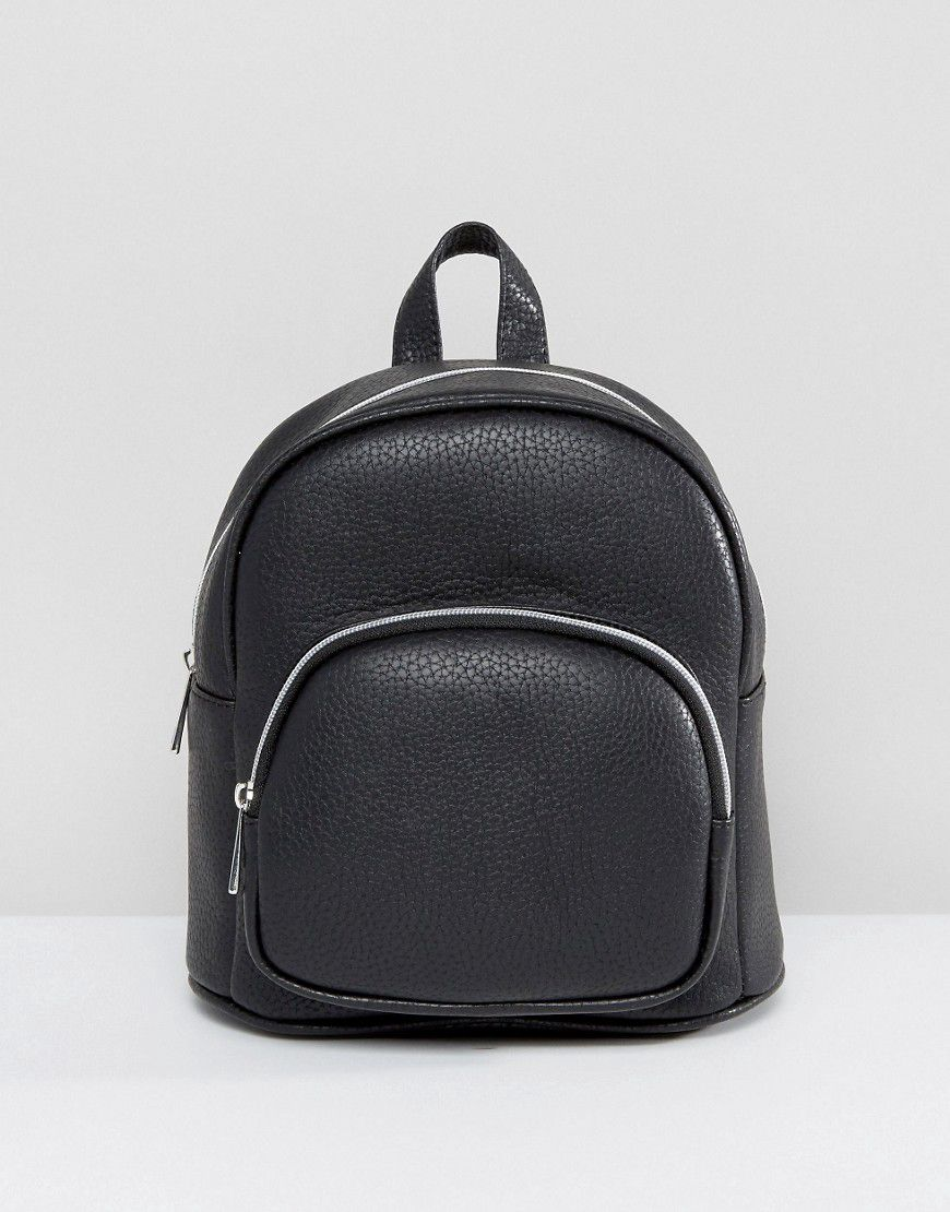 Asos Mini Backpack With Front Pocket - Asos   reve b88f3aa2a5