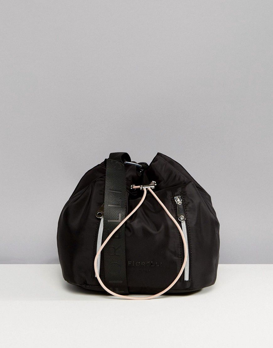 2501a0f2b6 Fiorelli Sport Drawstring Duffle Bag In Black - Asos