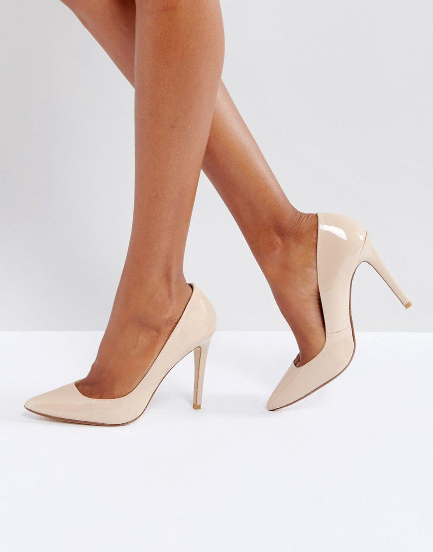 aac9929dd2fb2d Dune London Aiyana Leather Heeled Shoes - Asos