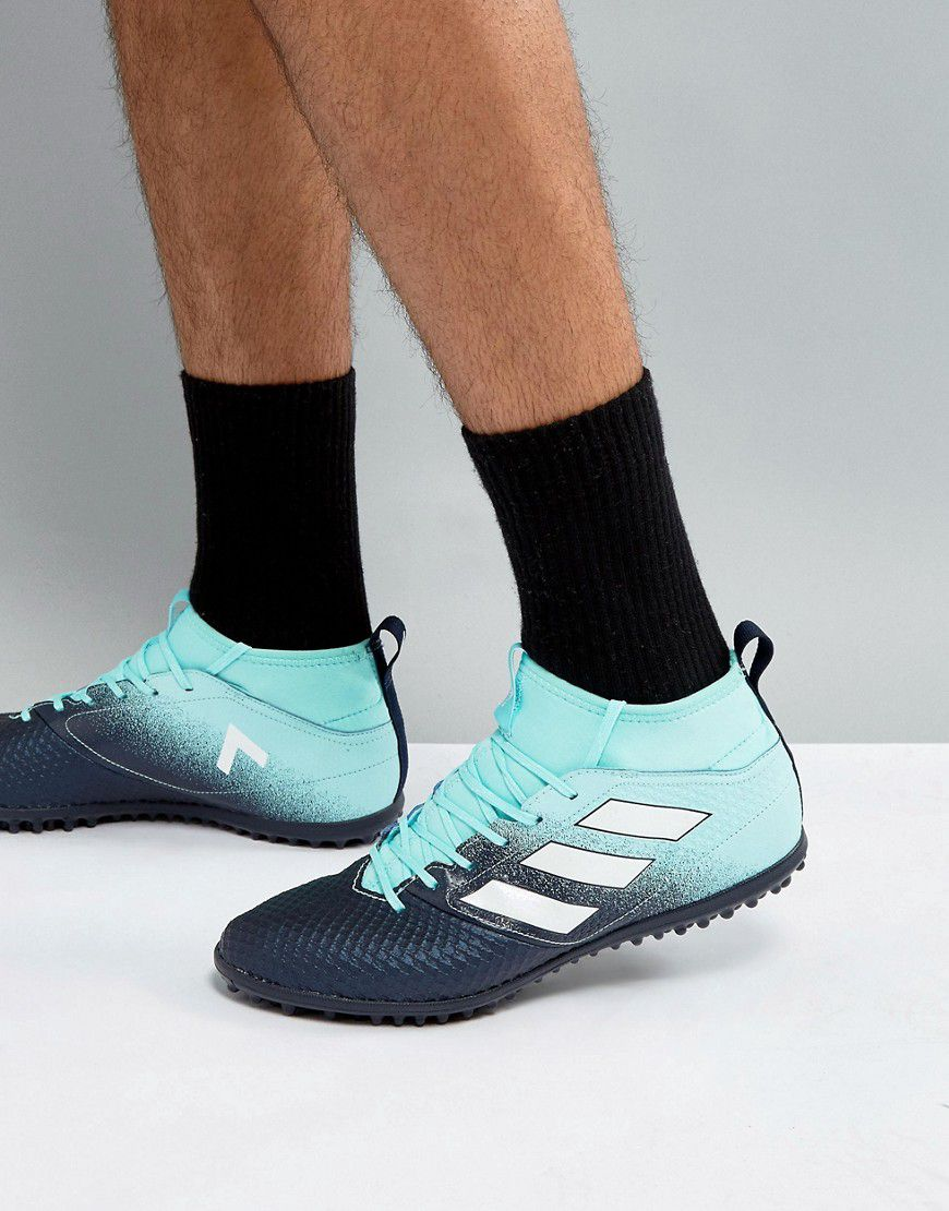 hot sale online 471ce 016ad Adidas Football Ace Tango 17.3 Astro Turf Trainers In Green S77083 - Asos    reve