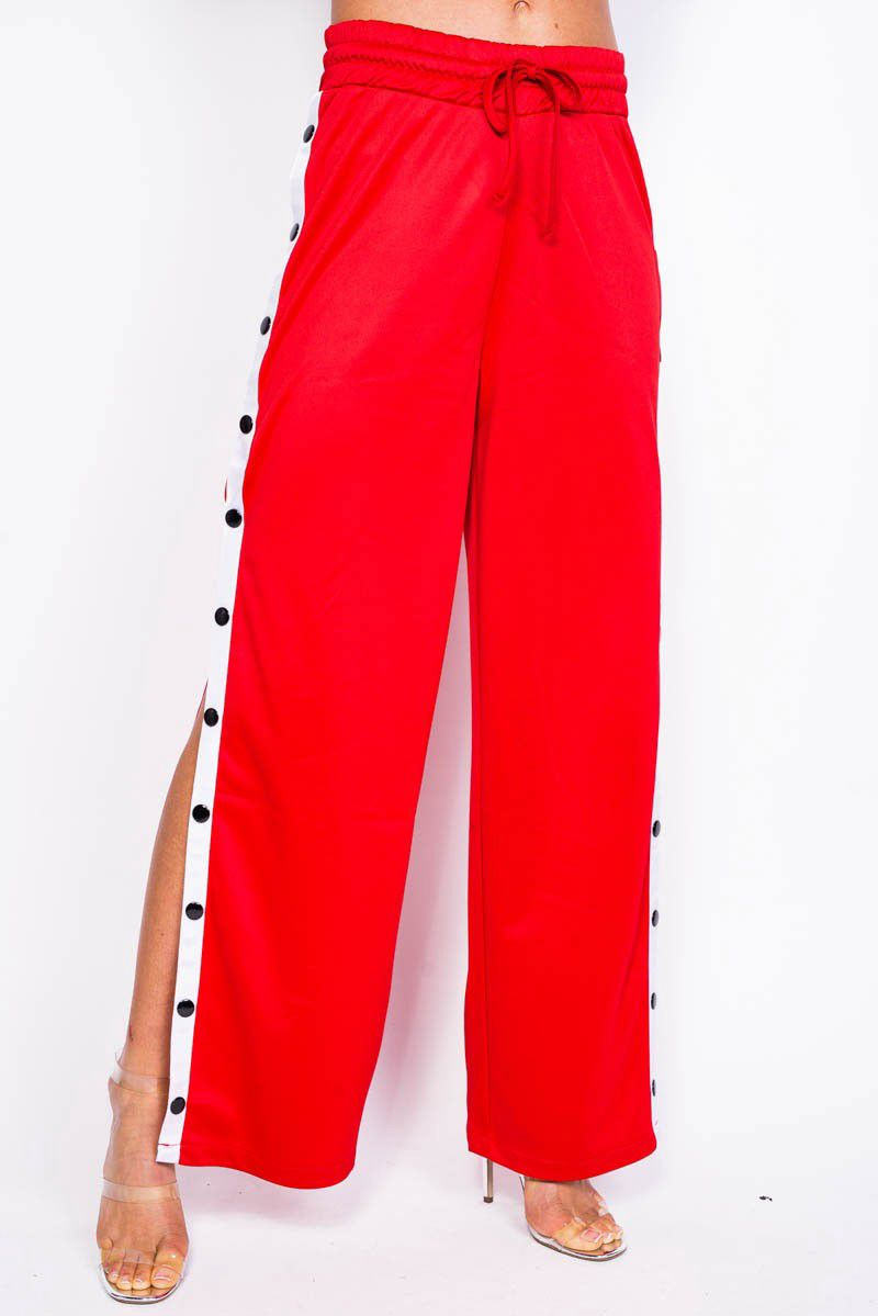 6c911a0ef Popper Pants - Red Madness - MADLADY