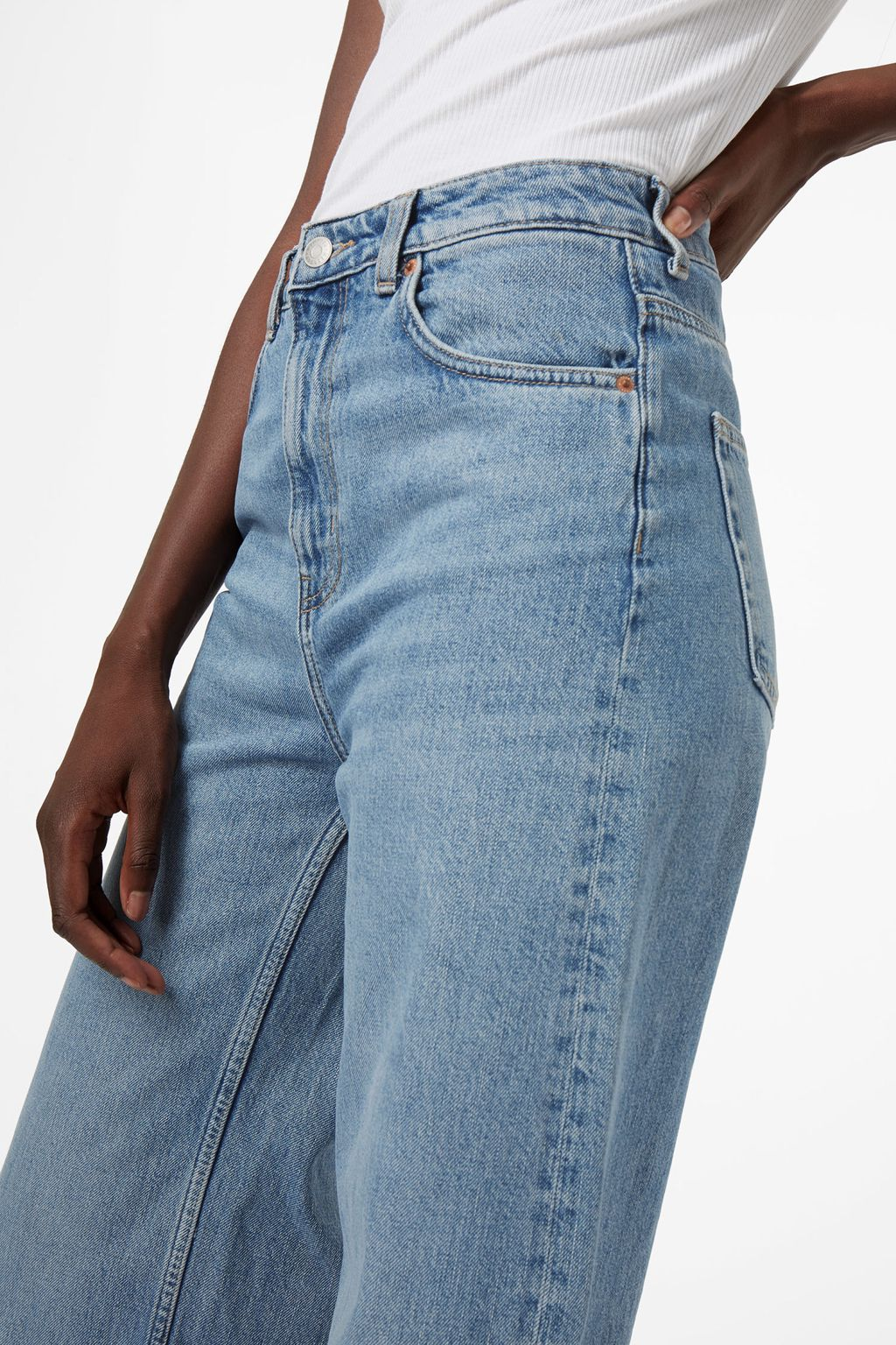 868398020029 Ace Wow Blue Jeans - Weekday