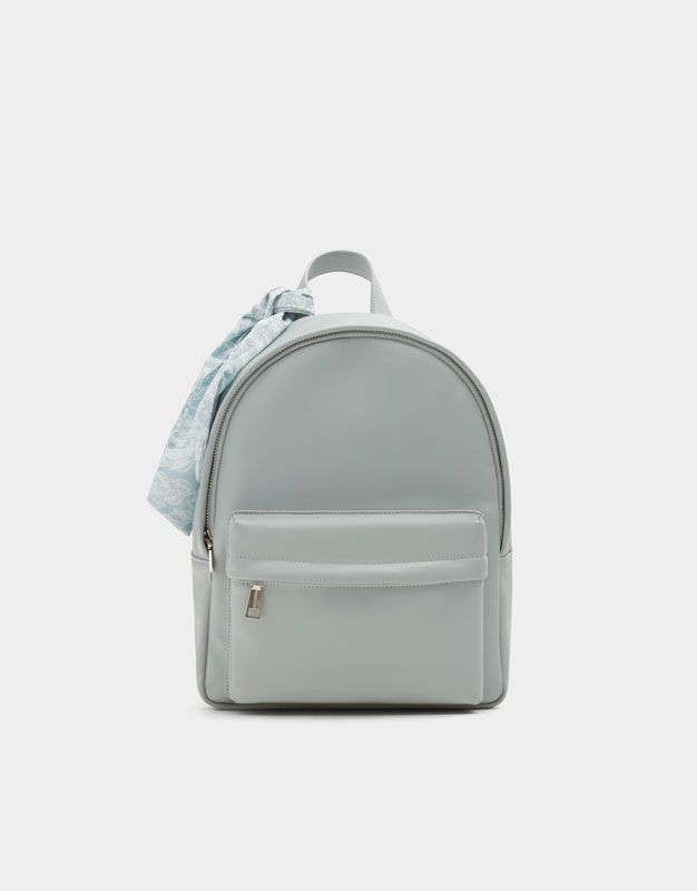 8a30b33d00 Blue Urban Backpack With Detail - Pull   Bear