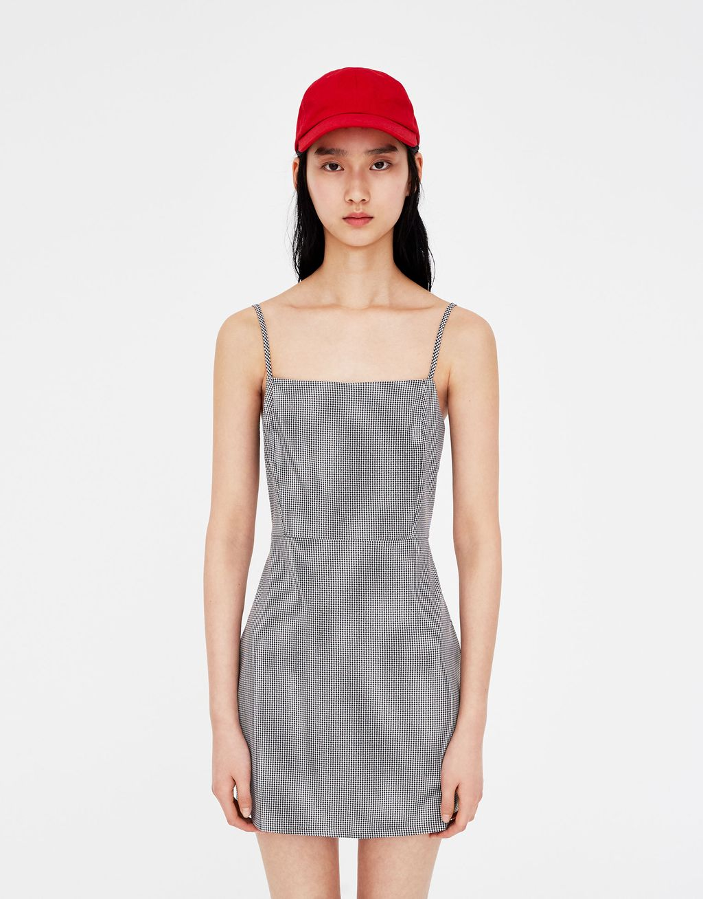213a1fd1 Fitted Mini Dress - Pull & Bear | reve