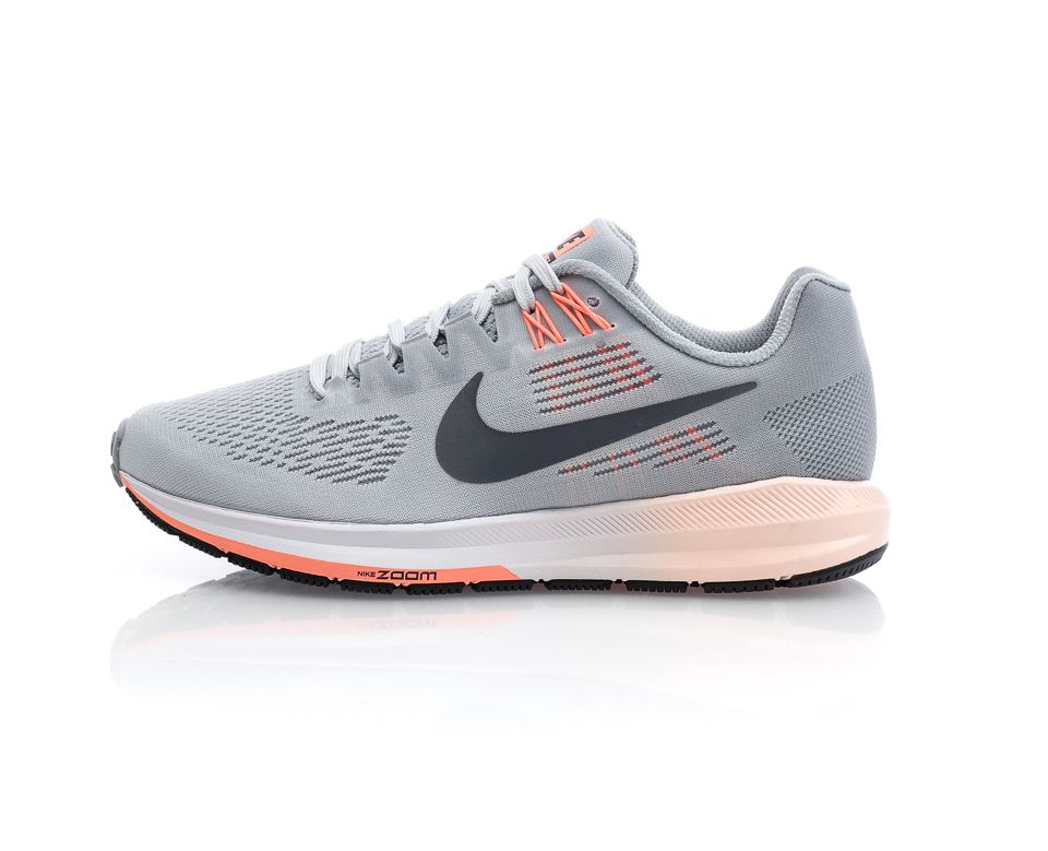 huge discount be35c c767d Nike - Air Zoom Structure 21 - Grå Rosa - Sportamore   reve
