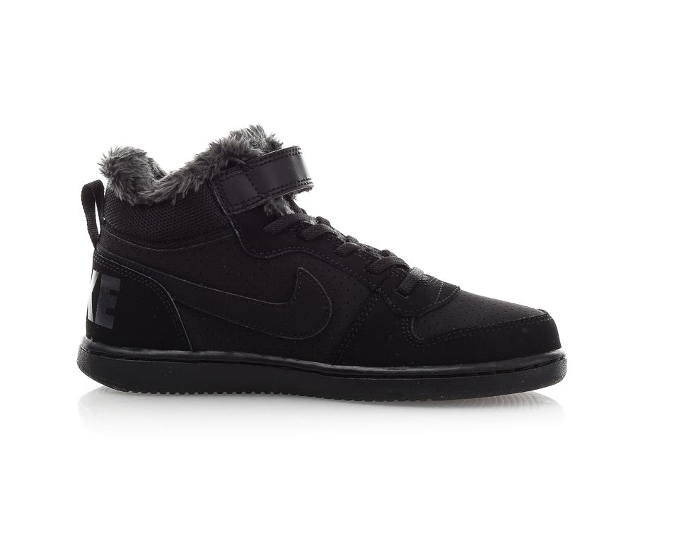 uk availability e6c54 723ca Nike - Court Borough Mid Winterized (Ps) - Svart - Sportamore   reve