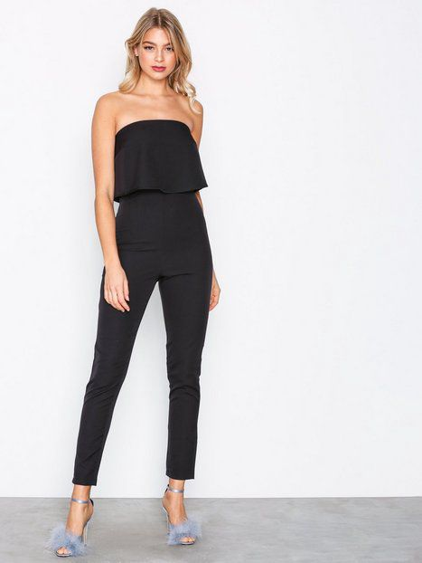 ef14a06152fc Bandeau Double Layer Jumpsuit Jumpsuits - Nelly.com