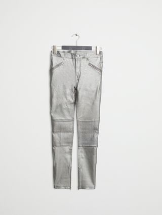904b2d94e78 Leather Pant 1 Silver - Afound | reve