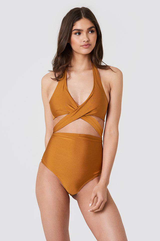 5517dad924 Cut Out Swimsuit - NA-KD | reve