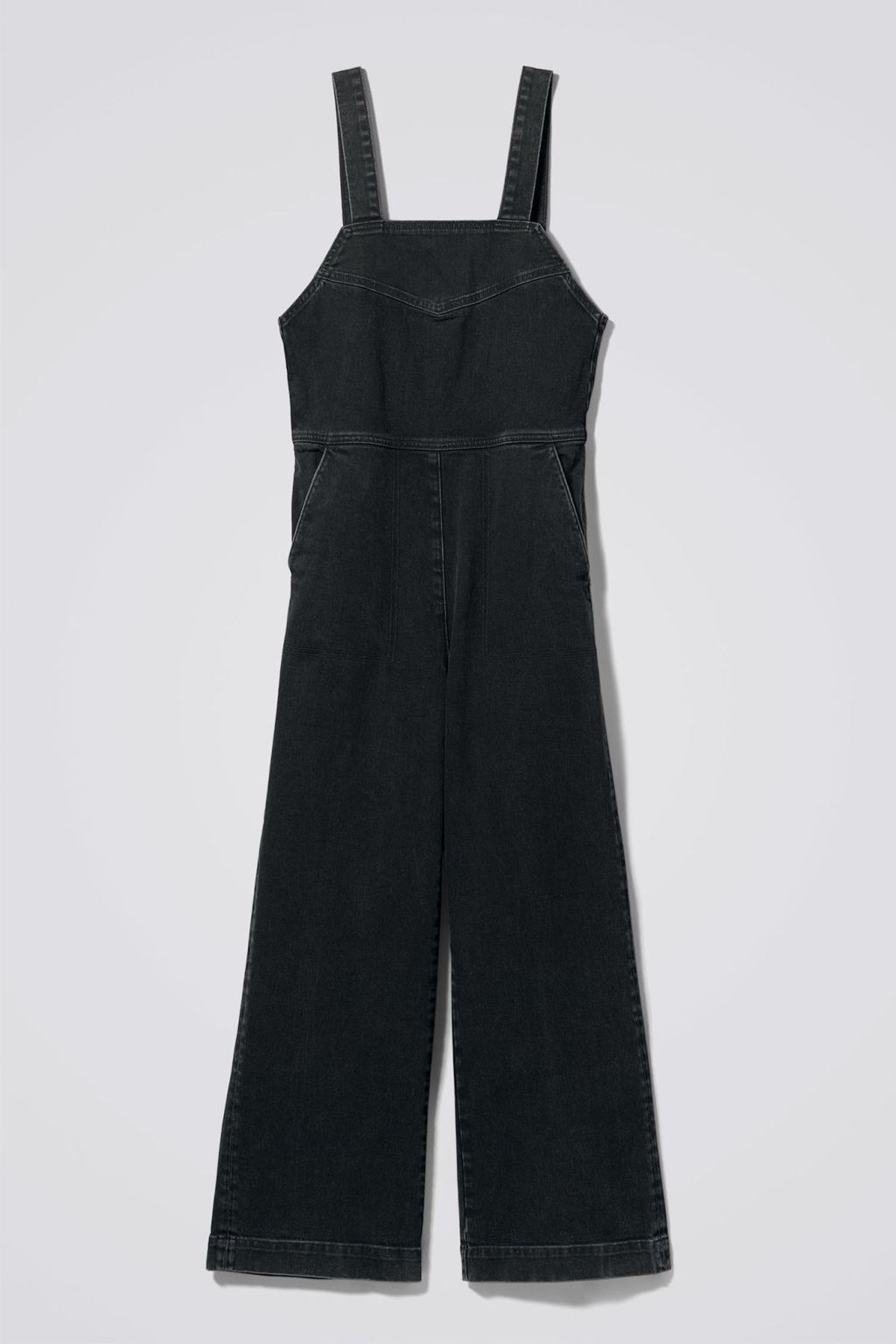 preview of lowest discount largest selection of 2019 Junip Denim Jumpsuit - Weekday | reve