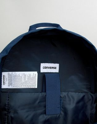 Converse Backpack In Navy 10003329-A02 - Asos   reve 3990a7084e