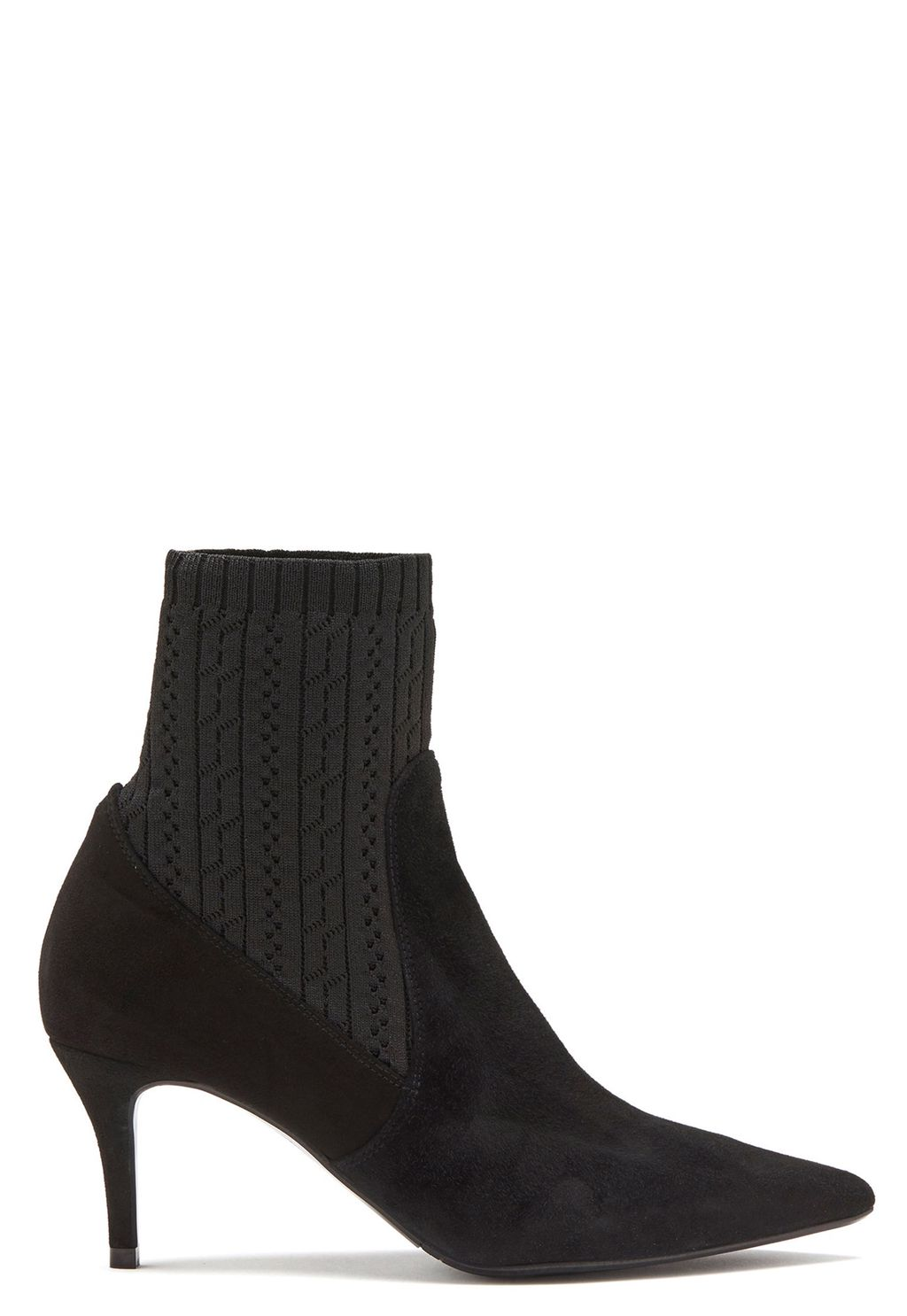 fe077d39563f Suede Stretch Boots Black - Bubbleroom