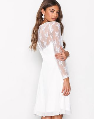 Whenever Lace Dress Skater Dresses - Nelly.com  b53b5f131a675